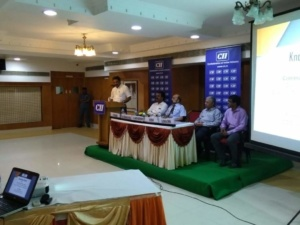 Meeting at Trichy with CII June 6
