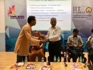 Innovation in Def Industry lecture at IIT Madras 8 Sep